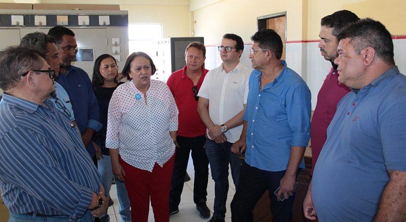 Problema da RN 404 foi tratado com a governadora Fátima Bezerra pelo prefeito Sael Melo e vereadores.
