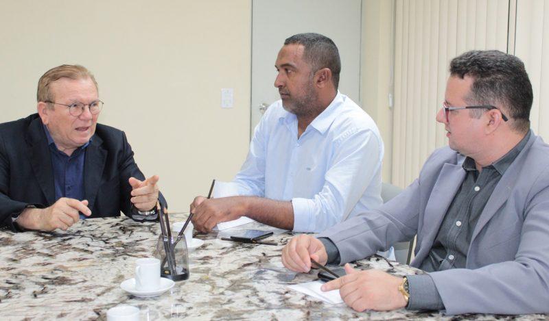 Porto de Graneleiro: Secretário do Governo do RN visita Porto do Mangue; Prefeito Sael Melo trabalha para que o município seja viável a instalação do porto.